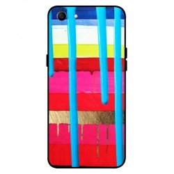 Oppo A1 Brushstrokes Cover