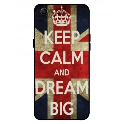 Oppo A1 Keep Calm And Dream Big Cover