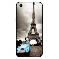 Oppo A1 Vintage Eiffel Tower Case