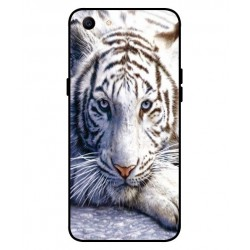 Oppo A1 White Tiger Cover
