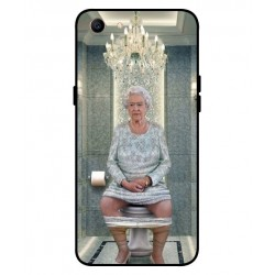 Oppo A1 Her Majesty Queen Elizabeth On The Toilet Cover
