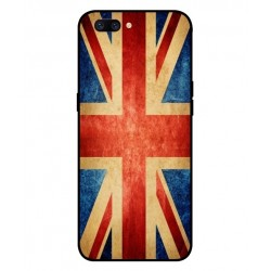 Coque Vintage UK Pour Oppo F7