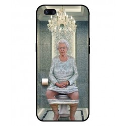 Oppo F7 Her Majesty Queen Elizabeth On The Toilet Cover