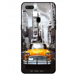 Coque New York Taxi Pour Oppo R15 Dream Mirror Edition