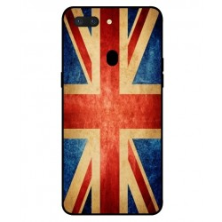 Coque Vintage UK Pour Oppo R15 Dream Mirror Edition