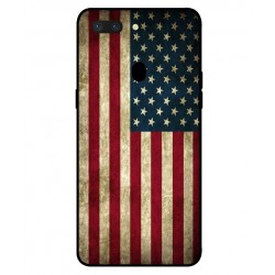 Coque Vintage America Pour Oppo R15 Dream Mirror Edition