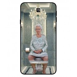 Samsung Galaxy J7 Prime 2 Her Majesty Queen Elizabeth On The Toilet Cover