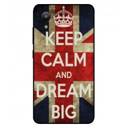 Coque Keep Calm And Dream Big Pour Sharp Aquos S3 Mini