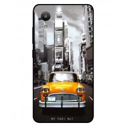 Coque New York Taxi Pour Sharp Aquos S3 Mini