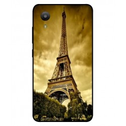 Coque Protection Tour Eiffel Pour Sharp Aquos S3 Mini