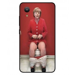 Protection Angela Merkel Aux Toilettes Pour Sharp Aquos S3 Mini
