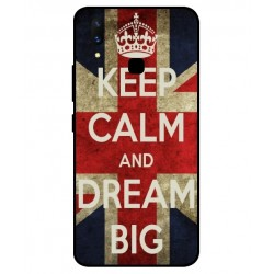 Coque Keep Calm And Dream Big Pour Vivo X21