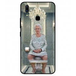 Vivo X21 Her Majesty Queen Elizabeth On The Toilet Cover