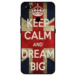 ZTE Nubia V18 Keep Calm And Dream Big Cover