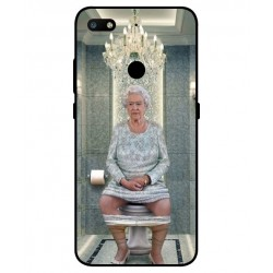 ZTE Nubia V18 Her Majesty Queen Elizabeth On The Toilet Cover