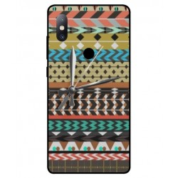 Xiaomi Mi Mix 2s Mexican Embroidery With Clock Cover