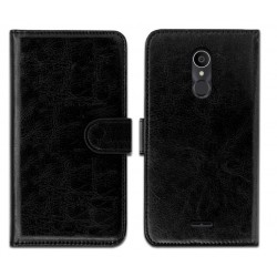 Alcatel 3c Black Wallet Case