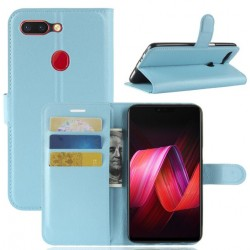 Oppo R15 Blue Wallet Case