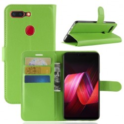 Oppo R15 Green Wallet Case