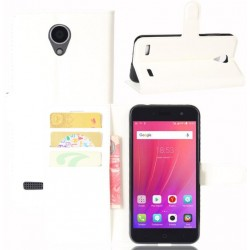 ZTE Blade A520 White Wallet Case