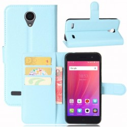 ZTE Blade A520 Blue Wallet Case