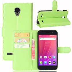 ZTE Blade A520 Green Wallet Case