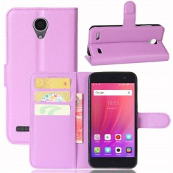 ZTE Blade A520 Purple Wallet Case