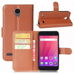 ZTE Blade A520 Brown Wallet Case