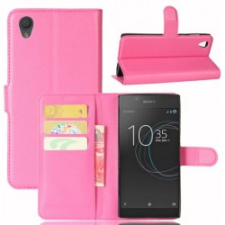 Sony Xperia L1 Pink Wallet Case