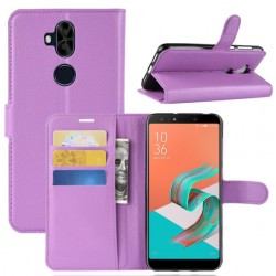 Asus Zenfone 5 Lite ZC600KL Purple Wallet Case