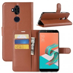 Asus Zenfone 5 Lite ZC600KL Brown Wallet Case