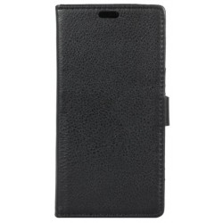 Alcatel 1x Black Wallet Case