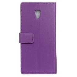 Alcatel 1x Purple Wallet Case