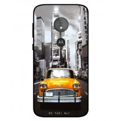 Motorola Moto E5 New York Taxi Cover