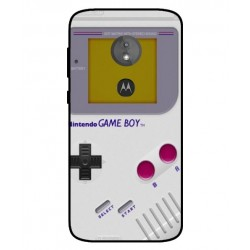 Motorola Moto E5 Game Boy Cover