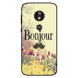 Coque Hello Paris Pour Motorola Moto E5 Play