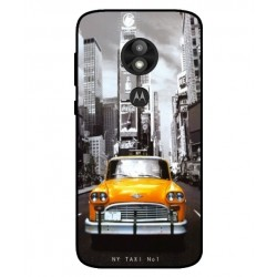 Coque New York Taxi Pour Motorola Moto E5 Play