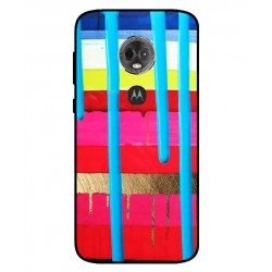 Motorola Moto E5 Plus Brushstrokes Cover