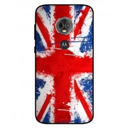 Coque UK Brush Pour Motorola Moto E5 Plus