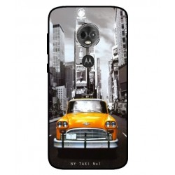 Motorola Moto E5 Plus New York Taxi Cover