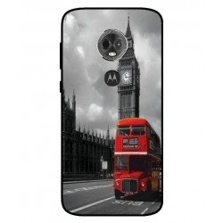 Motorola Moto E5 Plus London Style Cover