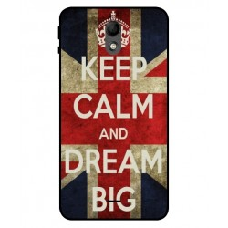 Wiko Kenny Keep Calm And Dream Big Cover