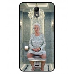 Wiko Kenny Her Majesty Queen Elizabeth On The Toilet Cover