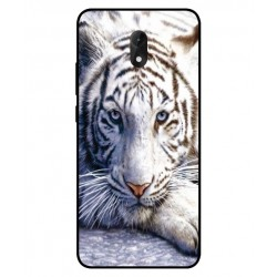 Wiko Lenny 5 White Tiger Cover
