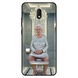 Wiko Lenny 5 Her Majesty Queen Elizabeth On The Toilet Cover