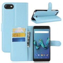 Wiko Tommy 3 Blue Wallet Case