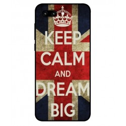 Huawei Honor 10 Keep Calm And Dream Big Cover