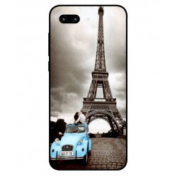 Huawei Honor 10 Vintage Eiffel Tower Case