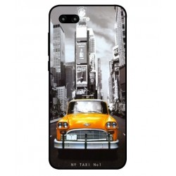 Coque New York Taxi Pour Huawei Honor 10