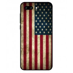 Coque Vintage America Pour Huawei Honor 10